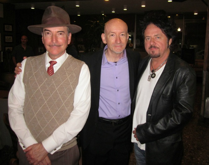 Cicada Club's Maxwell DeMille, Berlin Calling Director Nigel Dick, Toto/Ringo Starr Guitarist Steve Lukather