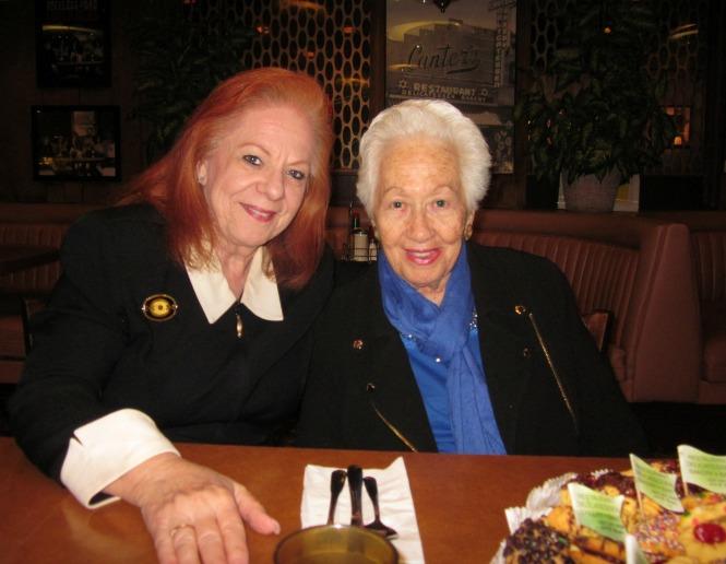 Klaire Firestone and Auschwitz Survivor Renee Firestone