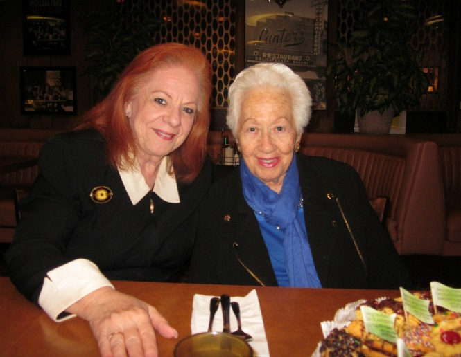 Klaire Firestone and Auschwitz Survivor Renee Firestone