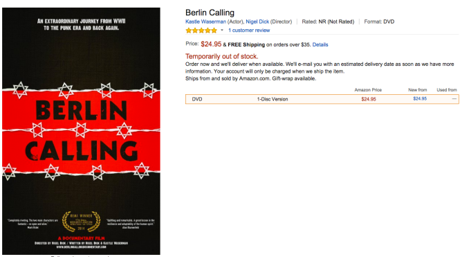 Berlin Calling Documentary
